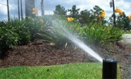 commercial-grade sprinkler equipment